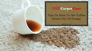 Peroxide can be used to remove coffee from the wool carpet if the pile is white or milky. Tips On How To Get Coffee Stains Out Of Carpet Tnt Carpet Caretnt Carpet Care