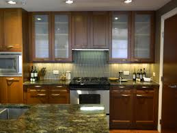 Medium Oak Kitchen Cabinets Cabinet Oak Kitchen Cabinet With Glass Door