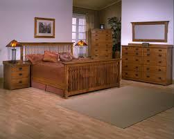 Mission Bedroom Furniture Mission Bedroom Set Red Quartersawn Oak Barrs Furniture The