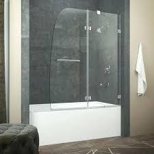 frameless glass bathtub doors patterned glass a