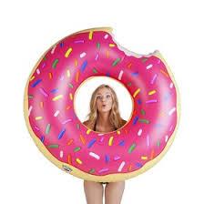 <b>Круг надувной BigMouth Strawberry</b> Donut (4479520) - Купить по ...