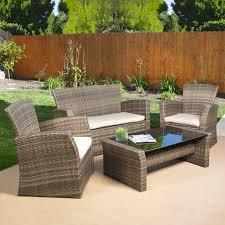 best deals on patio furniture outdoor sofa plastic wicker set plastic patio furniture sets f52