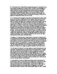 christmas carol charles dickens analysis essay case study  a christmas carol theme analysis novelguide