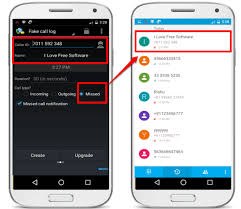 Android To Free Create Apps Call Fake Log 5 Best xEI7qq1