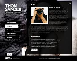 Photography Websites Templates Free Full JS Website Template Photography 5