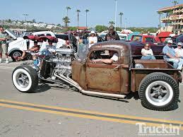 classic truck trends rat rod truck invasion truckin magazine