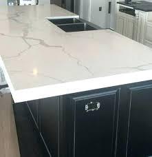 quartz countertop edge types edges 3 mitered a built up on island most popular bui