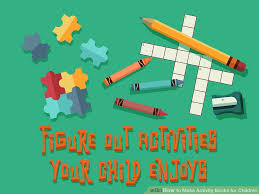 image led make activity books for children step 2
