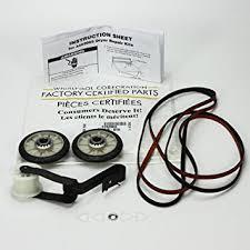 kenmore dryer belt. factory kenmore sears kirkland roper dryer kit part # 4392065, with belt 341241, idler