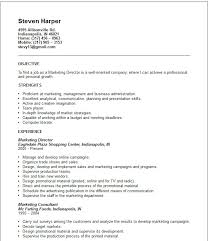 marketing director resume example interview resume sample