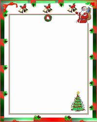 Christmas Letterhead Template Free Holiday Letterhead Template Fresh Christmas Letterhead
