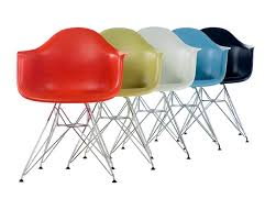 Ray and charles eames furniture Recliner Just Creative Charles Eames And Ray Eames Eames Molded Plastic Chairs