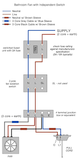 bathroom fan and light switch Bathroom Light Fan Wiring Diagram Wiring Up a Bathroom Fan and Light at Fan
