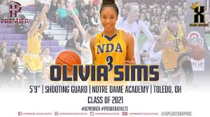 Olivia Sims' 2018-2019 Notre Dame Academy Highlights [Premier Highlights] -  YouTube