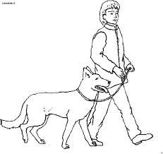 Persone Con Animali Immagine Da Colorare N 233 Cartoni Da Colorare