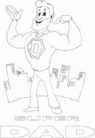 Small Picture super dad coloring page coloringcom