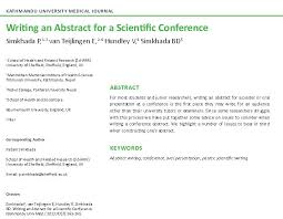 Tips for Writing Better Science Papers  Abstract        Education     Nature Blogs