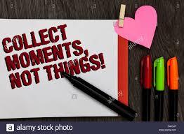 Schreiben Hinweis übersicht Sammeln Momente Die Dinge Nicht