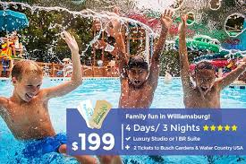 busch gardens williamsburg packages. Perfect Busch Family Fun In Williamsburg  Busch Gardens And Water Country USA Intended Packages