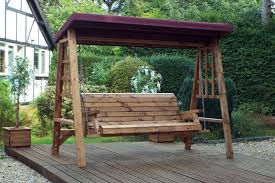 3 seater wooden garden swing seat wooden garden hammock 3 seat swing with canopy