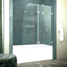 ing bi folding glass shower doors foldable