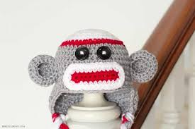 we ve included a newborn to 3 years sock monkey crochet