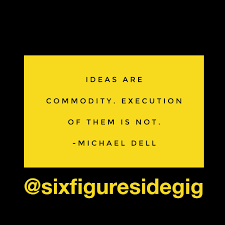 Business Quote Fascinating Six Figure Side Gig On Twitter Quote MichaelDell Ideas R