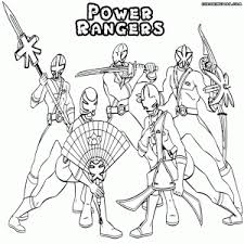 Small Picture Power Rangers Super Samurai Coloring Pages Online Power Ranger
