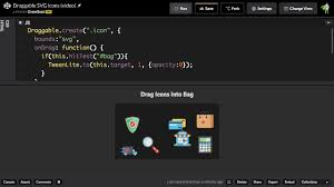 Quicktip Easy Svg Drag And Drop Learning Center Greensock