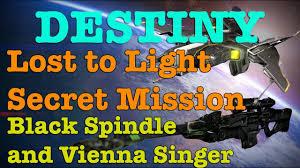 Lost To Light Secret Mission Destiny Lost To Light Secret Mission Gameplay Black