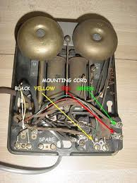 wiring a touch tone pad to any antique telephone phone conversion anti sidetone subsets