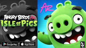 Angry Birds AR: Isle of Pigs】Gameplay Android / iOS - YouTube