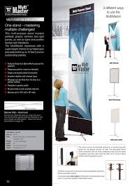 Multiple Poster Display Stands Mark Bric Display 60