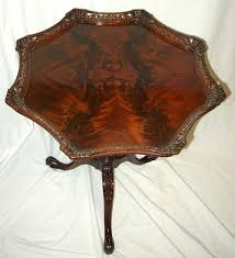 what color is mahogany furniture. this lamp table from the late 1940s has a crotch cut mahogany veneer top and what color is furniture
