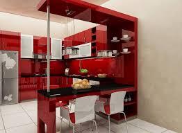 minimalist interior concept with red kitchen cabis for mini kitchen mini kitchen unit