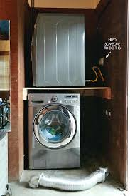 stackable washer and gas dryer. Exellent And Stackable Washer Dryer Garage Laundry Nook With New Gas Line  Combo Throughout Stackable Washer And Gas Dryer