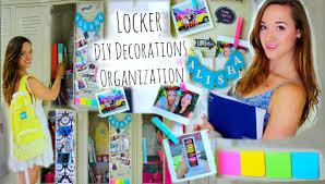 Diy Locker Organization Decor Tumblr Inspired Back To School