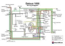 s datsun 1000 datsun 1000 wiring diagram colour