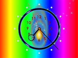 A screensaver-clock charging you with ...