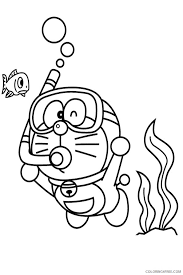 Doraemon is one of the longest running anime series and the most successful work of fujiko fujio. Doraemon Coloring Pages Printable Coloring4free Coloring4free Com