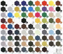 Tamiya Ps Paint Chart Tamiya Acrylic Paint Pot 10ml X 1 To X 35 Choose Your Colour