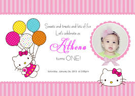 hello kitty invitation card template com hello kitty birthday invitations templates invitations ideas