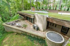 Houses Built Underground 70s Bunker Like House Is Actually A Dream Curbed
