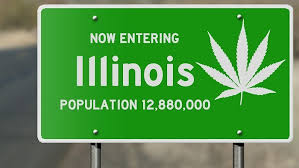 Image result for Illinois cannabis law passed
