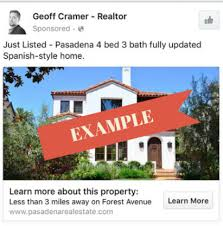 Just Listed Sold Facebook Ads