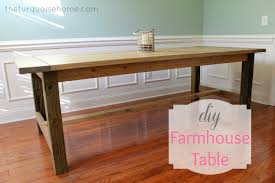 Build this DIY farmhouse table for less than $100 and wow your friends and  family.