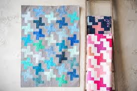 Free-Motion Quilting for Beginners: 10 Tips & Quilt made in different colors and different quilting Adamdwight.com