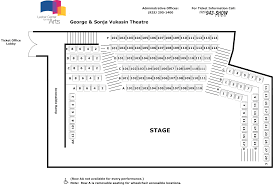 The Masonic Sf Seating Chart Seating Charts