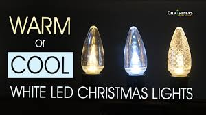 Ice White Led Christmas Lights Warm Or Cool White Led Christmas Lights
