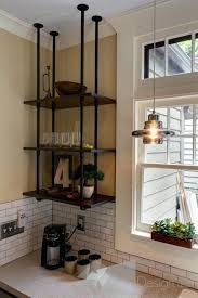 suspended glass shelves from ceiling shining inspiration suspended shelves from ceiling kitchen garage cable suspended glass